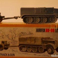 Maquetas: AIRFIX POLY HALF TRACK & GUN. Lote 153709966