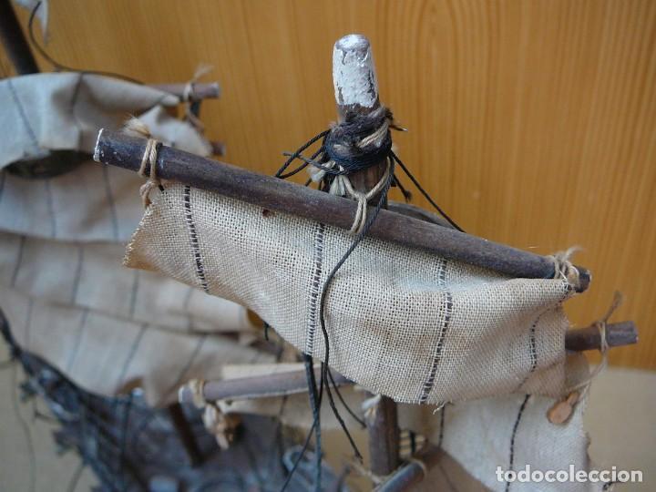 Maquetas: Maqueta Fragata Española 1780. Madera y plástico. Para restaurar. - Foto 3 - 153827174