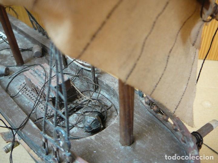 Maquetas: Maqueta Fragata Española 1780. Madera y plástico. Para restaurar. - Foto 5 - 153827174