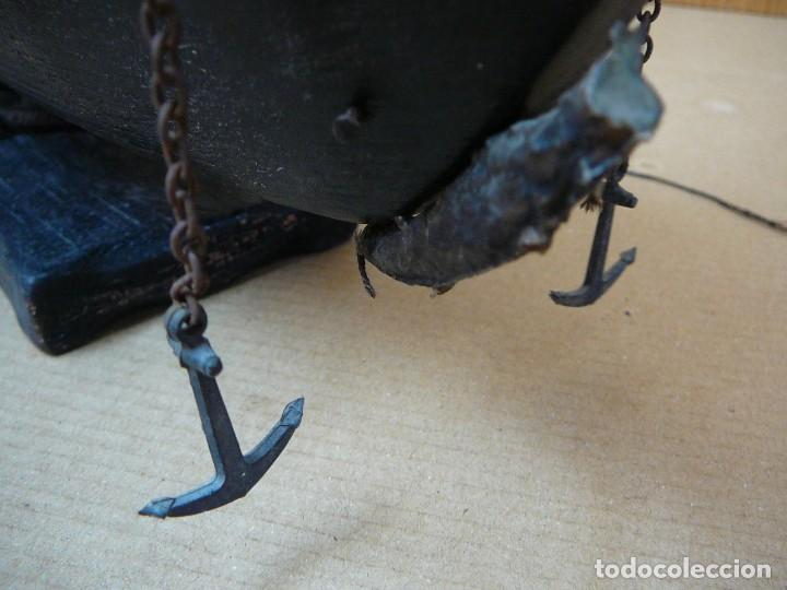 Maquetas: Maqueta Fragata Española 1780. Madera y plástico. Para restaurar. - Foto 7 - 153827174