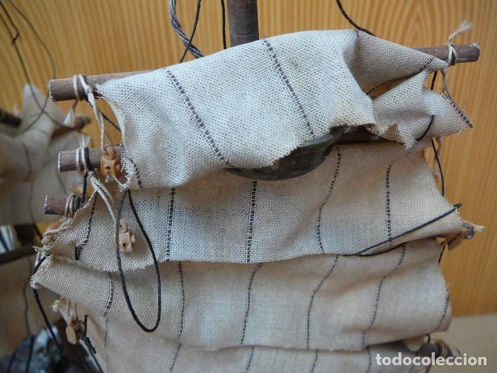 Maquetas: Maqueta Fragata Española 1780. Madera y plástico. Para restaurar. - Foto 9 - 153827174