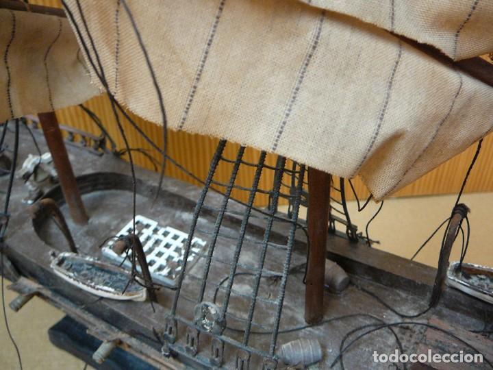 Maquetas: Maqueta Fragata Española 1780. Madera y plástico. Para restaurar. - Foto 10 - 153827174