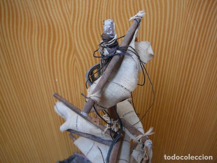 Maquetas: Maqueta Fragata Española 1780. Madera y plástico. Para restaurar. - Foto 13 - 153827174
