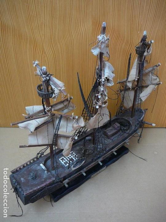 Maquetas: Maqueta Fragata Española 1780. Madera y plástico. Para restaurar. - Foto 16 - 153827174