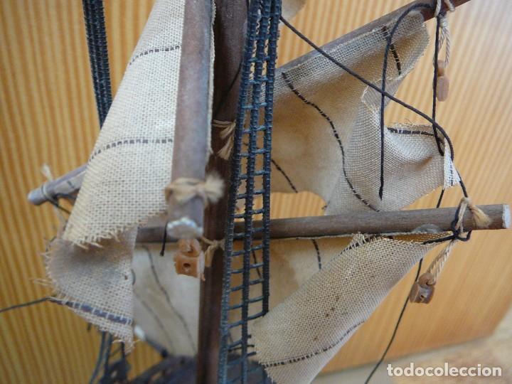 Maquetas: Maqueta Fragata Española 1780. Madera y plástico. Para restaurar. - Foto 18 - 153827174