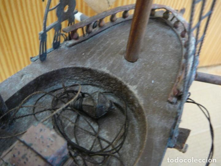Maquetas: Maqueta Fragata Española 1780. Madera y plástico. Para restaurar. - Foto 19 - 153827174