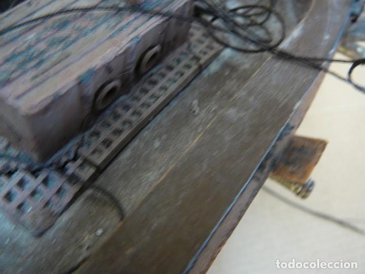 Maquetas: Maqueta Fragata Española 1780. Madera y plástico. Para restaurar. - Foto 20 - 153827174