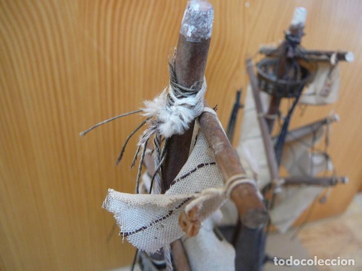 Maquetas: Maqueta Fragata Española 1780. Madera y plástico. Para restaurar. - Foto 21 - 153827174