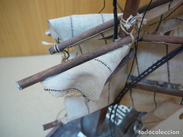 Maquetas: Maqueta Fragata Española 1780. Madera y plástico. Para restaurar. - Foto 26 - 153827174