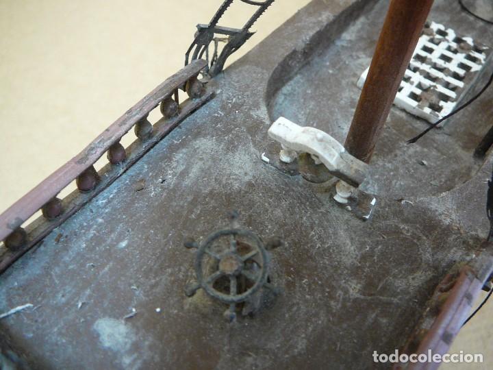 Maquetas: Maqueta Fragata Española 1780. Madera y plástico. Para restaurar. - Foto 27 - 153827174
