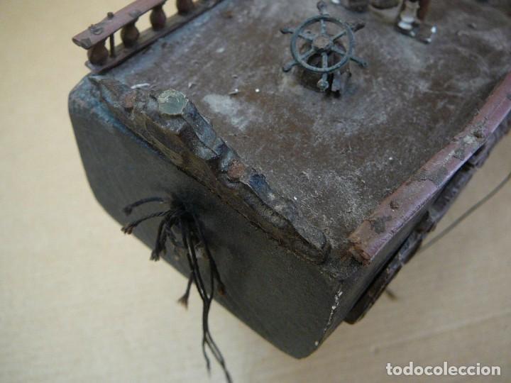 Maquetas: Maqueta Fragata Española 1780. Madera y plástico. Para restaurar. - Foto 28 - 153827174