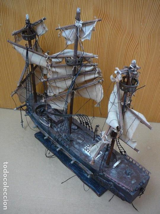 Maquetas: Maqueta Fragata Española 1780. Madera y plástico. Para restaurar. - Foto 29 - 153827174