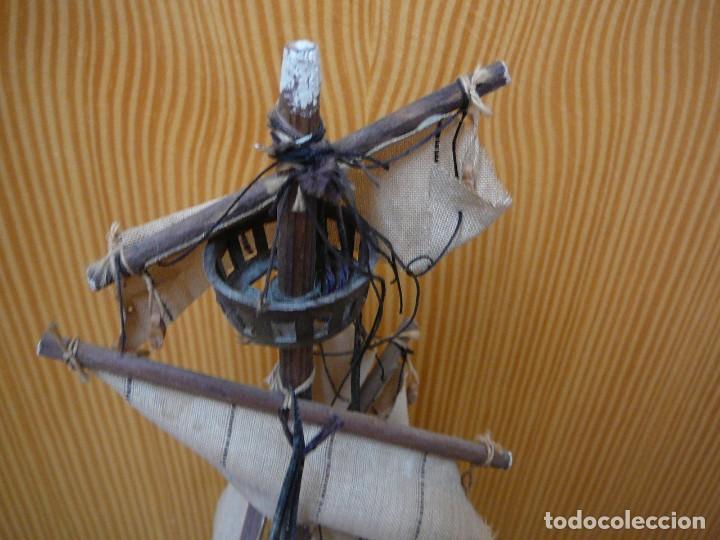 Maquetas: Maqueta Fragata Española 1780. Madera y plástico. Para restaurar. - Foto 30 - 153827174