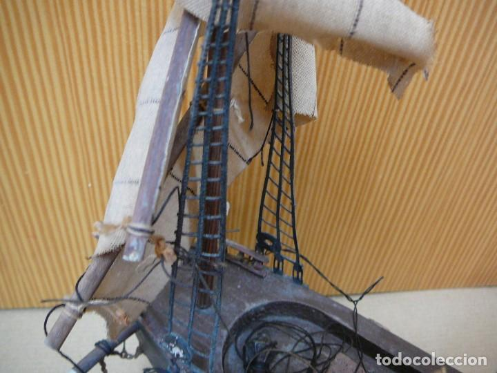Maquetas: Maqueta Fragata Española 1780. Madera y plástico. Para restaurar. - Foto 31 - 153827174