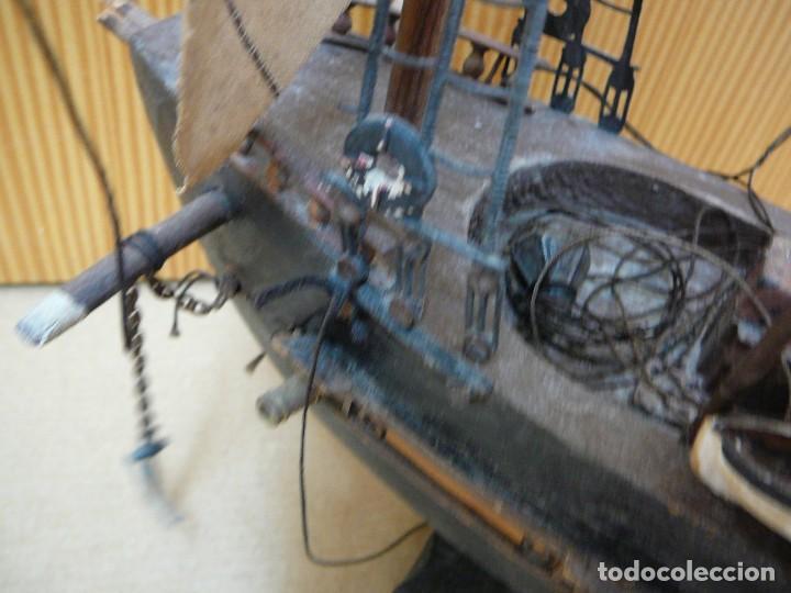 Maquetas: Maqueta Fragata Española 1780. Madera y plástico. Para restaurar. - Foto 32 - 153827174