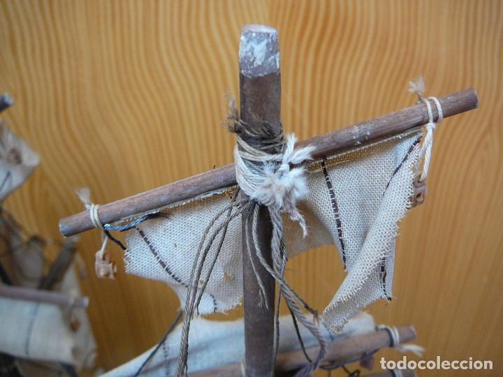 Maquetas: Maqueta Fragata Española 1780. Madera y plástico. Para restaurar. - Foto 33 - 153827174