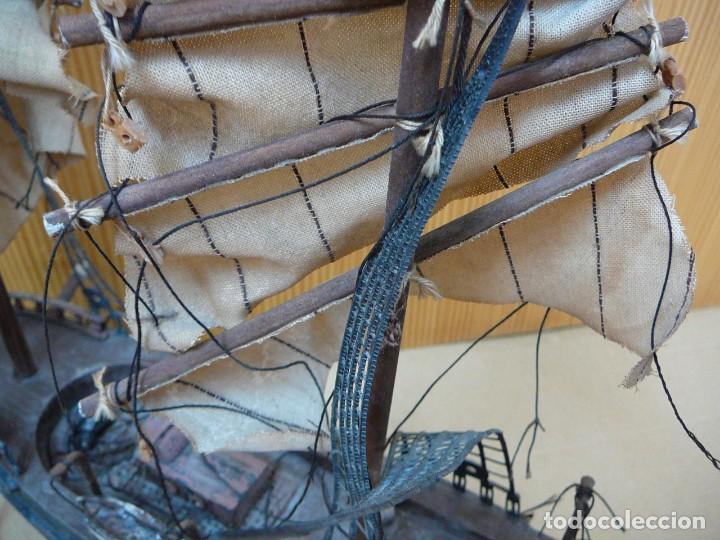 Maquetas: Maqueta Fragata Española 1780. Madera y plástico. Para restaurar. - Foto 34 - 153827174