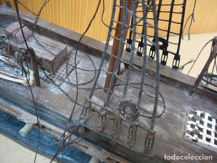 Maquetas: Maqueta Fragata Española 1780. Madera y plástico. Para restaurar. - Foto 35 - 153827174