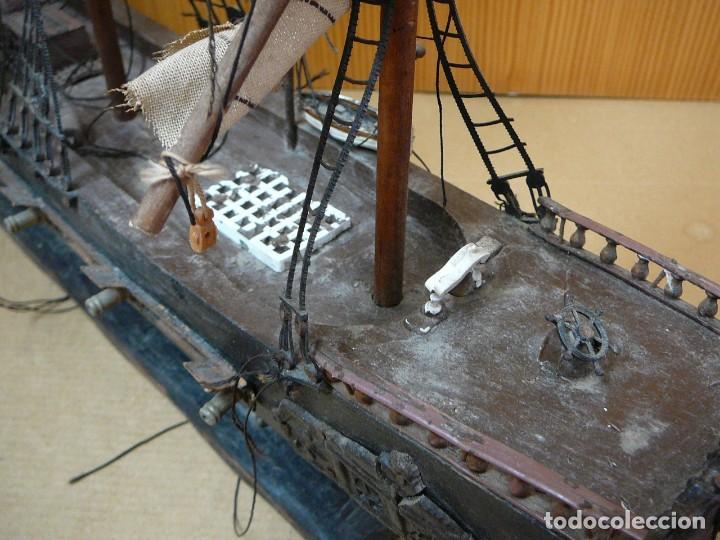 Maquetas: Maqueta Fragata Española 1780. Madera y plástico. Para restaurar. - Foto 39 - 153827174