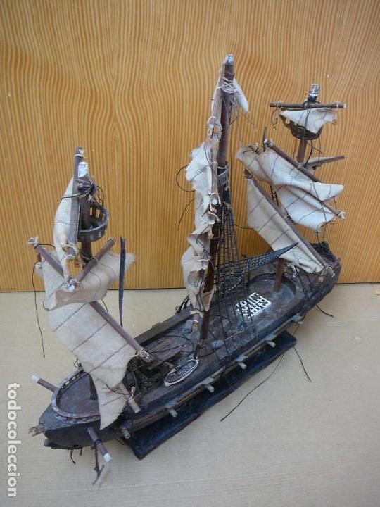 Maquetas: Maqueta Fragata Española 1780. Madera y plástico. Para restaurar. - Foto 41 - 153827174