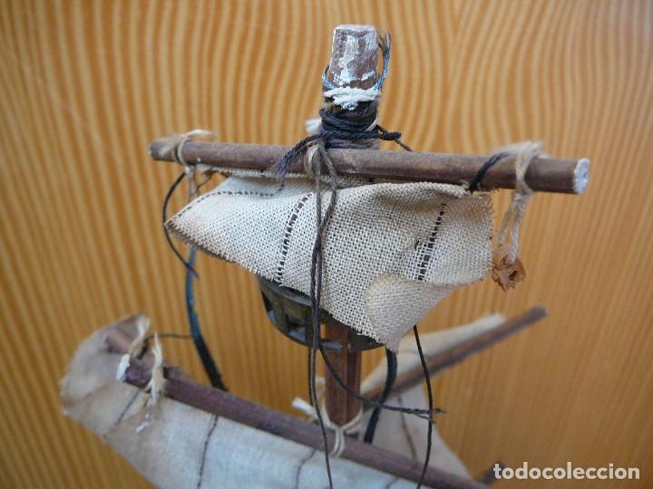 Maquetas: Maqueta Fragata Española 1780. Madera y plástico. Para restaurar. - Foto 42 - 153827174