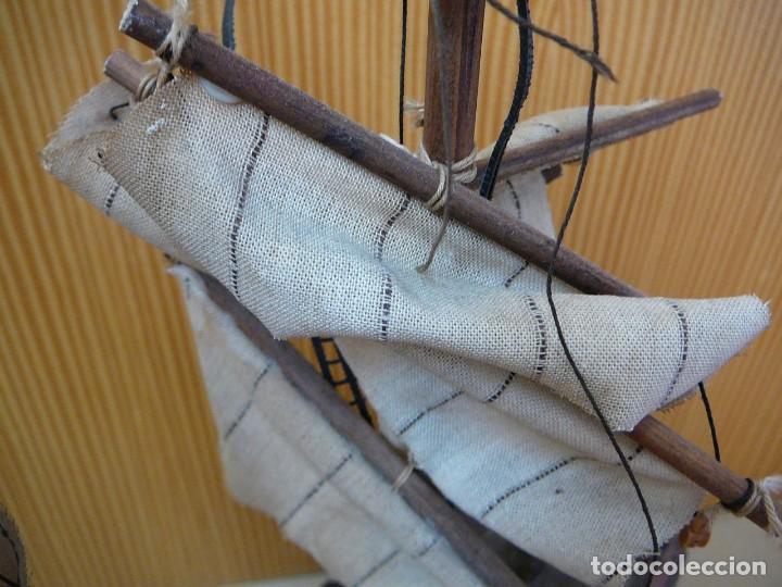 Maquetas: Maqueta Fragata Española 1780. Madera y plástico. Para restaurar. - Foto 43 - 153827174