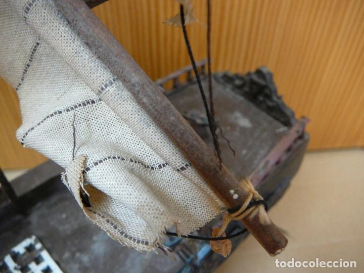 Maquetas: Maqueta Fragata Española 1780. Madera y plástico. Para restaurar. - Foto 44 - 153827174