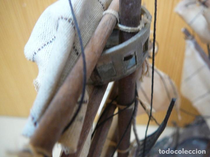 Maquetas: Maqueta Fragata Española 1780. Madera y plástico. Para restaurar. - Foto 49 - 153827174