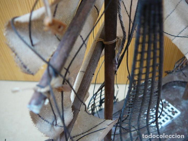 Maquetas: Maqueta Fragata Española 1780. Madera y plástico. Para restaurar. - Foto 50 - 153827174
