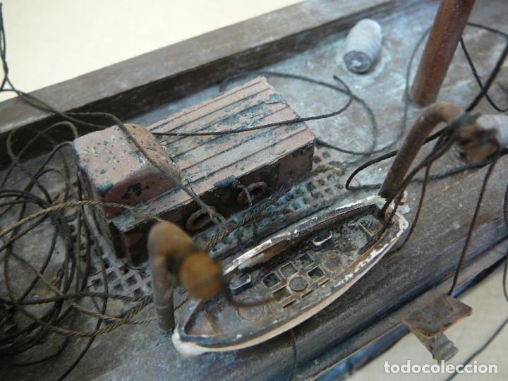 Maquetas: Maqueta Fragata Española 1780. Madera y plástico. Para restaurar. - Foto 52 - 153827174