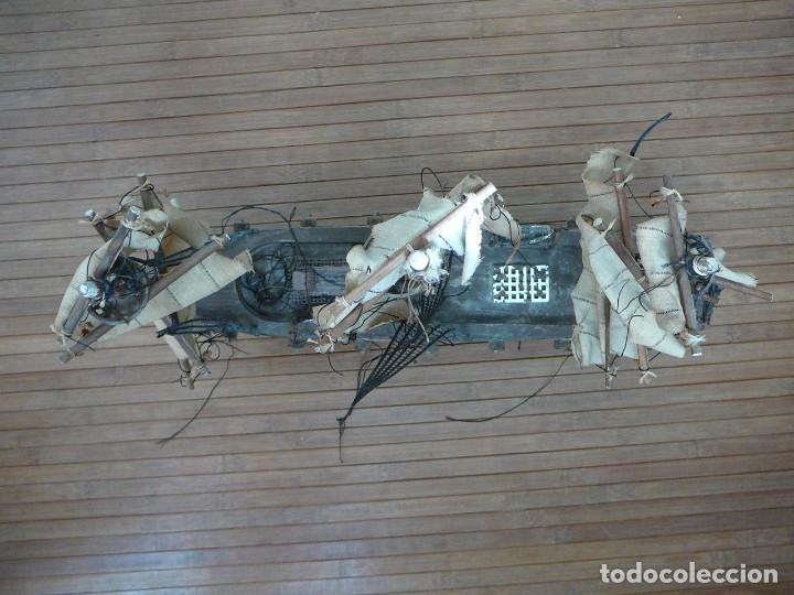 Maquetas: Maqueta Fragata Española 1780. Madera y plástico. Para restaurar. - Foto 56 - 153827174