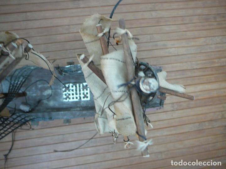 Maquetas: Maqueta Fragata Española 1780. Madera y plástico. Para restaurar. - Foto 59 - 153827174