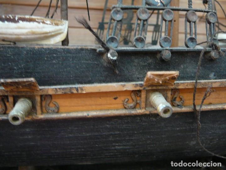 Maquetas: Maqueta Fragata Española 1780. Madera y plástico. Para restaurar. - Foto 65 - 153827174