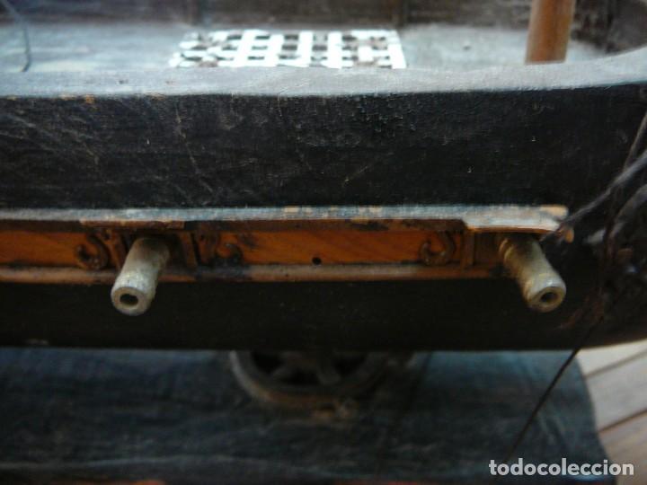 Maquetas: Maqueta Fragata Española 1780. Madera y plástico. Para restaurar. - Foto 71 - 153827174