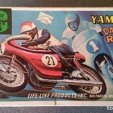 Maquetas: MAQUETA YAMAHA DAYTONA RACER LIFE LIKE HOBBY KITS. Lote 153865450