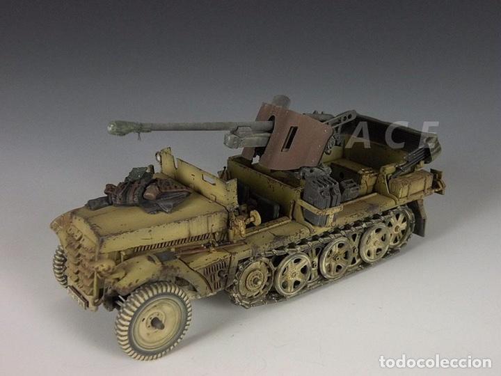 Maquetas: Sd.Kfz. 10 50mm PAK 38 1:72 Caesar Miniatures 7209 maqueta carro diorama - Foto 5 - 153896870