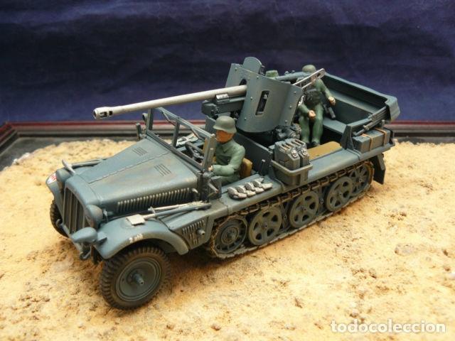 Maquetas: Sd.Kfz. 10 50mm PAK 38 1:72 Caesar Miniatures 7209 maqueta carro diorama - Foto 6 - 153896870