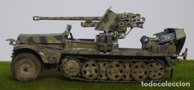 Maquetas: Sd.Kfz. 10 50mm PAK 38 1:72 Caesar Miniatures 7209 maqueta carro diorama - Foto 7 - 153896870