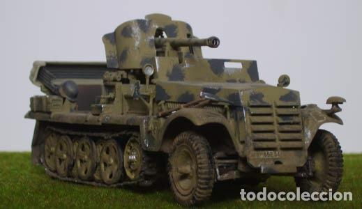 Maquetas: Sd.Kfz. 10 50mm PAK 38 1:72 Caesar Miniatures 7209 maqueta carro diorama - Foto 8 - 153896870