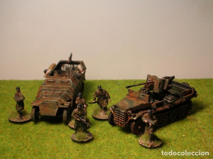 Maquetas: Sd.Kfz. 10 50mm PAK 38 1:72 Caesar Miniatures 7209 maqueta carro diorama - Foto 10 - 153896870