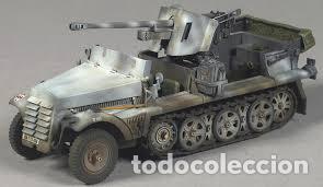 Maquetas: Sd.Kfz. 10 50mm PAK 38 1:72 Caesar Miniatures 7209 maqueta carro diorama - Foto 12 - 153896870