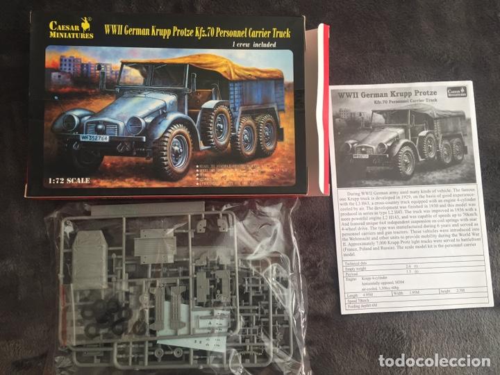Maquetas: Krupp Protze Kfz. 70 1:72 CAESAR MINIATURES 7207 maqueta camión carro - Foto 2 - 153897390
