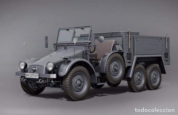Maquetas: Krupp Protze Kfz. 70 1:72 CAESAR MINIATURES 7207 maqueta camión carro - Foto 3 - 153897390