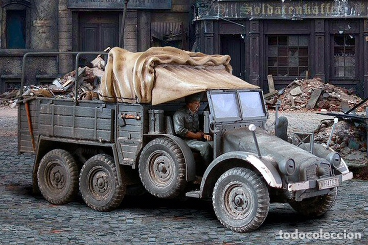 Maquetas: Krupp Protze Kfz. 70 1:72 CAESAR MINIATURES 7207 maqueta camión carro - Foto 6 - 153897390