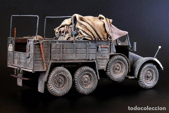 Maquetas: Krupp Protze Kfz. 70 1:72 CAESAR MINIATURES 7207 maqueta camión carro - Foto 7 - 153897390