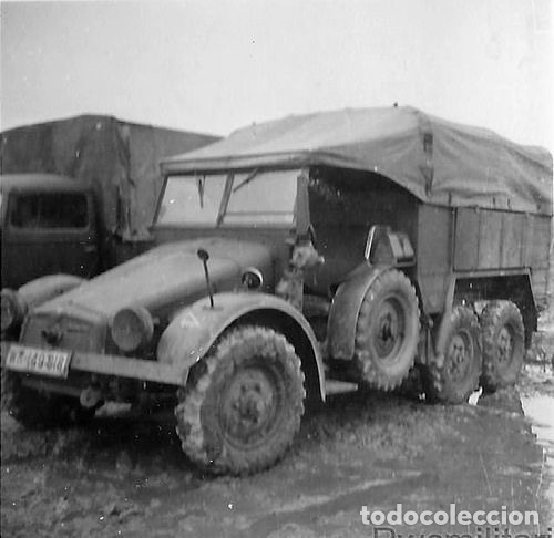 Maquetas: Krupp Protze Kfz. 70 1:72 CAESAR MINIATURES 7207 maqueta camión carro - Foto 8 - 153897390