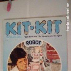 Maquetas: KIT KIT ROBOT TROQUELADO FACIL DE MONTAR NUMERO 31 AÑO 1980. Lote 153973158