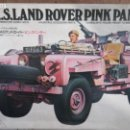Maquetas: S. A. S. LAND ROVER PINK PANTHER. Lote 154324814