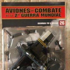 Maquettes: GRUMMAN F6F-5 HELLCAT - AVIONES DE COMBATE DE LA IIGM ALTAYA, Nº26. Lote 154444006