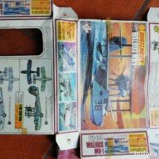 Maquetas: CAJA DE ANTIGUA MAQUETA AVION WALRUS MK1 MATCHBOX MADE IN ENGLAND - SOLO EMBALAJE. Lote 154551642